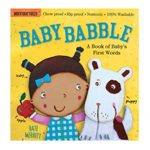 Rip-proof baby babble book