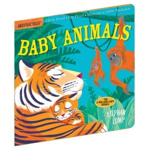 Indestructibles Baby Animals picture book