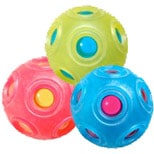 "2 3/4"" rigid ball with silicone cover"