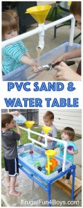 pvc sand & water table