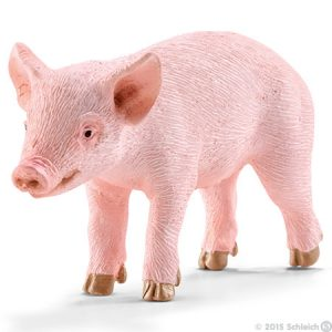 Toy piglet for pretend play