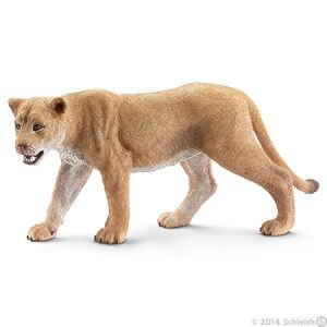 Toy lioness for pretend play