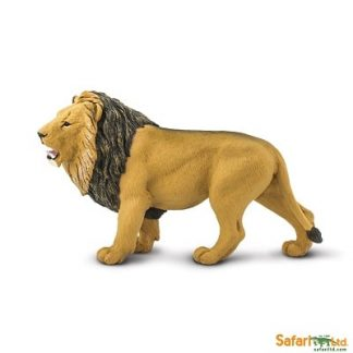 african lion wild animal play figure