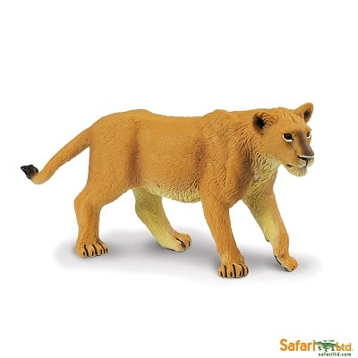 african lioness wild animal play figure