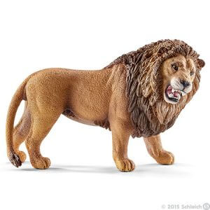 Toy roaring lion for pretend play