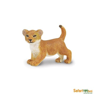 lion cub replica for imaginative play