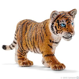 Toy tiger cub for pretend play