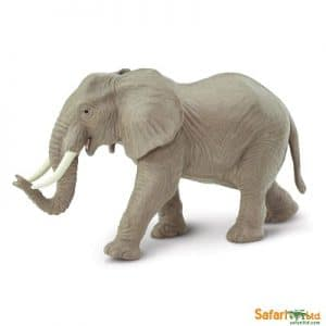African elephant adult for imaginative play