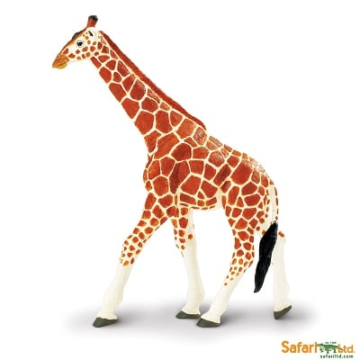 wild animal play figures african reticulated giraffe