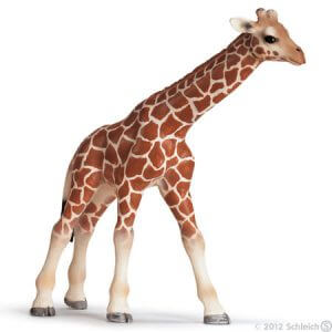 Toy giraffe calf for pretend play