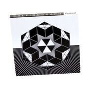 High-contrast geometric designs for layering in kaleidoscopic patterns