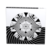 OpArt designs for layering in kaleidoscopic patterns