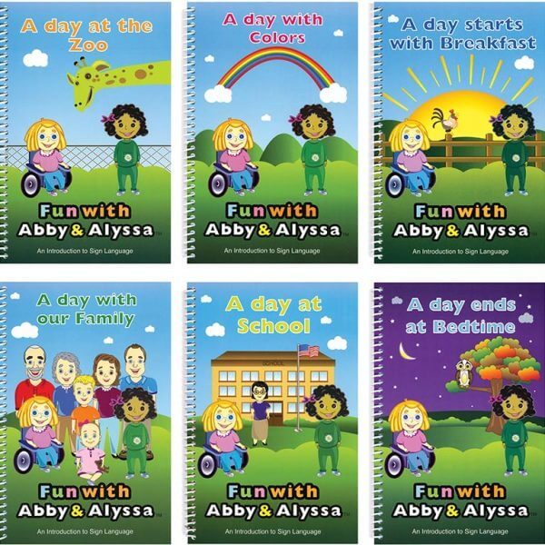 ASL days-in-the-lives of two sisters books