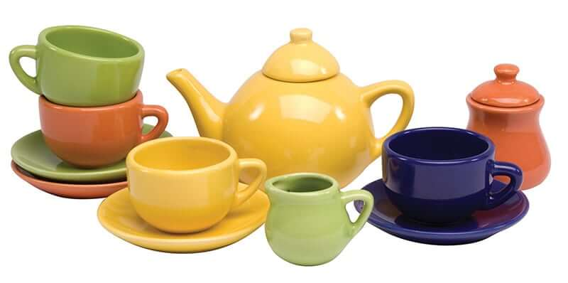 Porcelain Tea Set promotes imaginative play