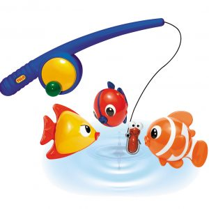 Magnetic fishing set for imaginative play