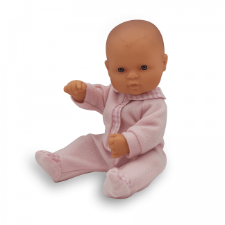 Anatomically correct newborn Anglo girl doll