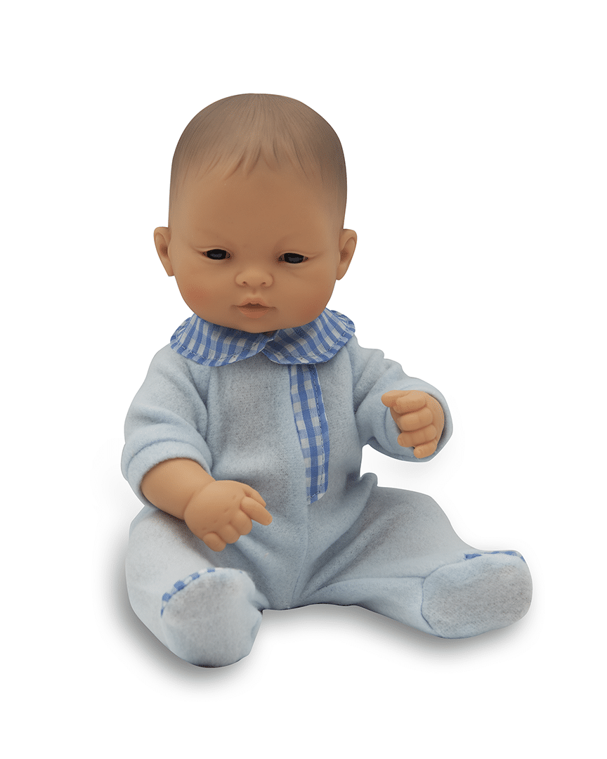 Anatomically correct newborn Asian boy doll