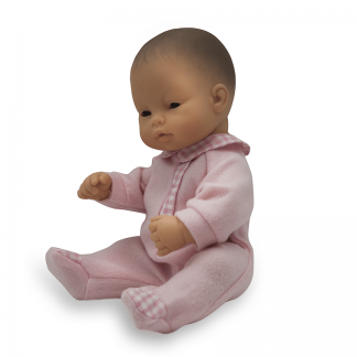 Anatomically correct newborn Asian girl doll