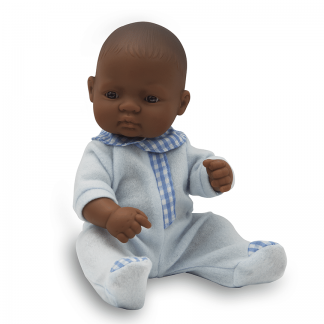 Anatomically correct newborn Latin boy doll