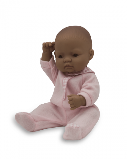 Anatomically correct newborn latin girl doll