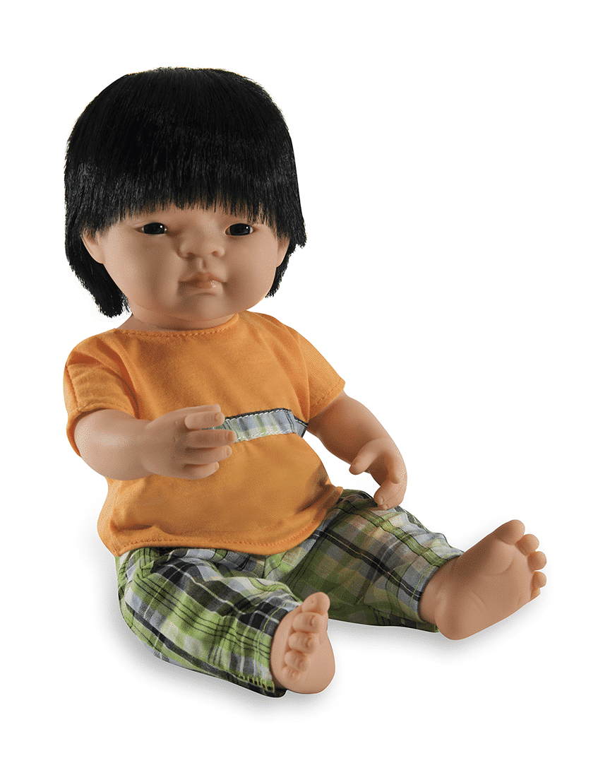 Anatomically correct Asian boy doll