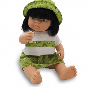 Anatomically correct Asian girl doll