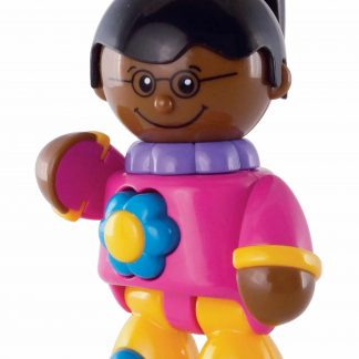 Tolo Multi-Cultural Play Figures-African American girl