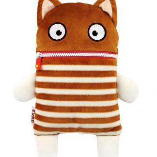 Plush character holds worries and cuddles