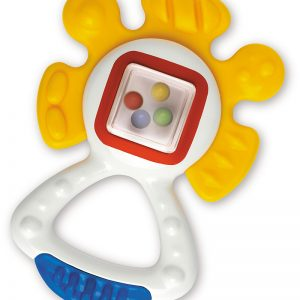 Pliable textured teether