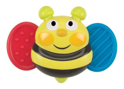light, music, vibrating bee-shaped baby toy