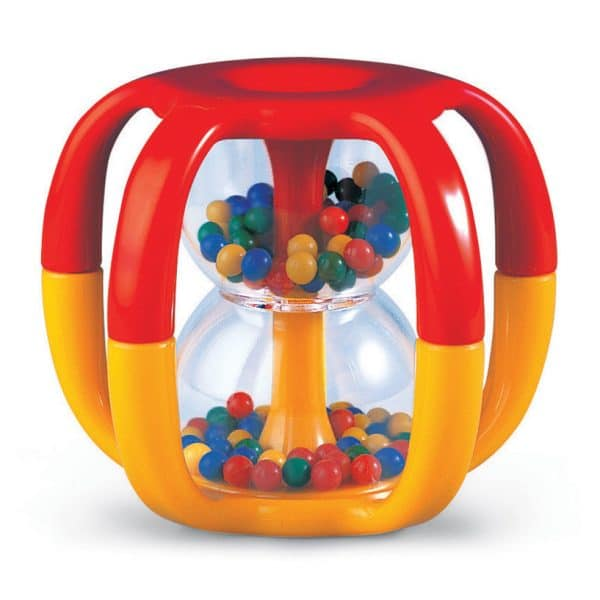 rainbow bead tumbler rattle