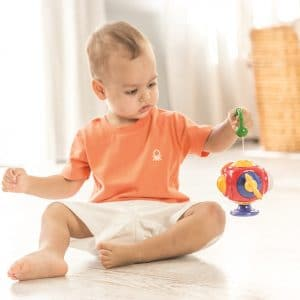 teapot shaped activity toy for toddlers