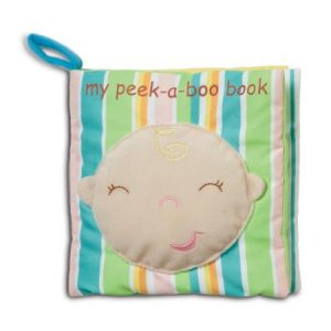 Peek a boo cloth book
