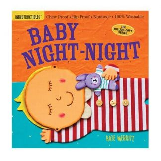 Rip-proof baby bedtime book