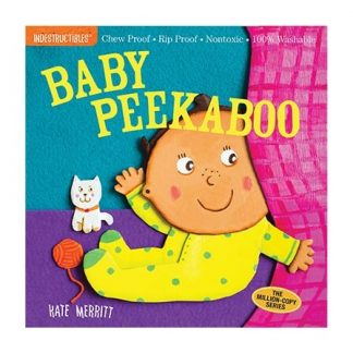 Rip-proof baby peekaboo book