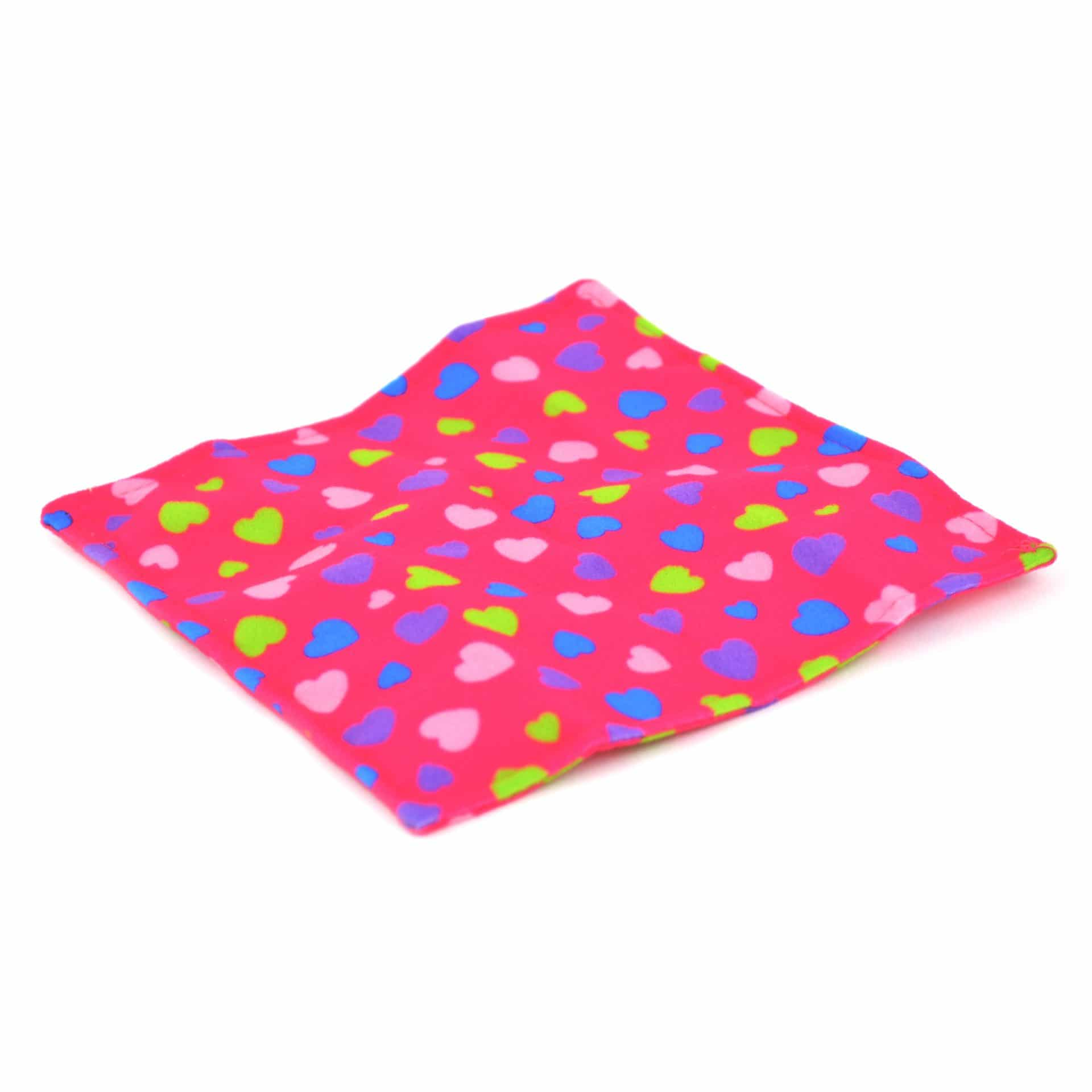 Flannel covered crinkly paper for babies