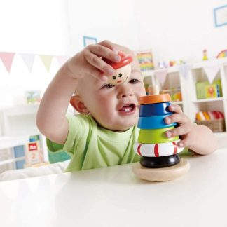Sailor wooden stacking toy