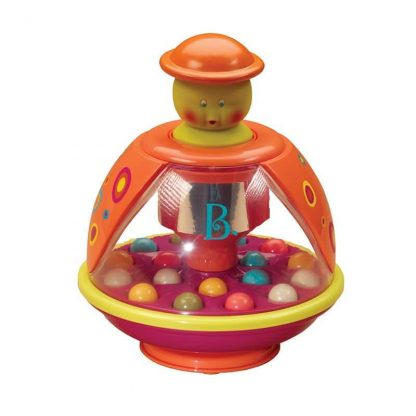 Pressing top makes balls pop and bounce