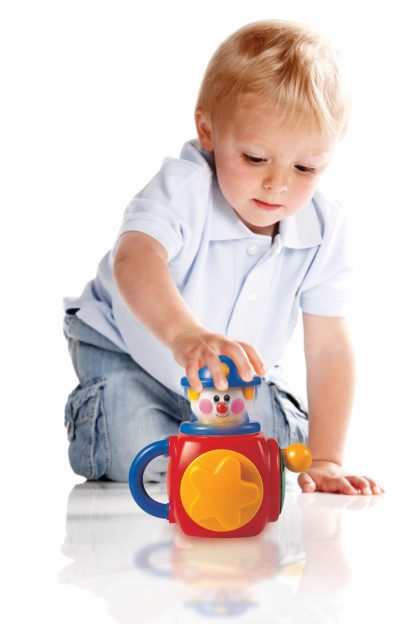Tolo Musical Jack-in-the-Box for toddlers