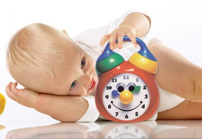 Tolo Tick Tock Musical Clock toddler toy