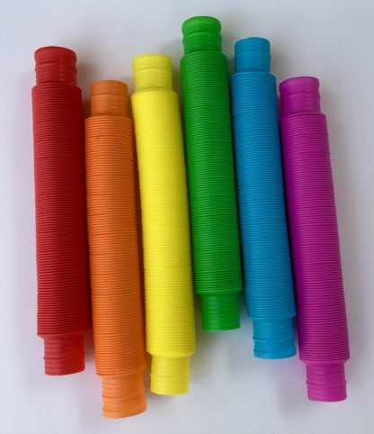 Pop Tubes accordion tubes for play