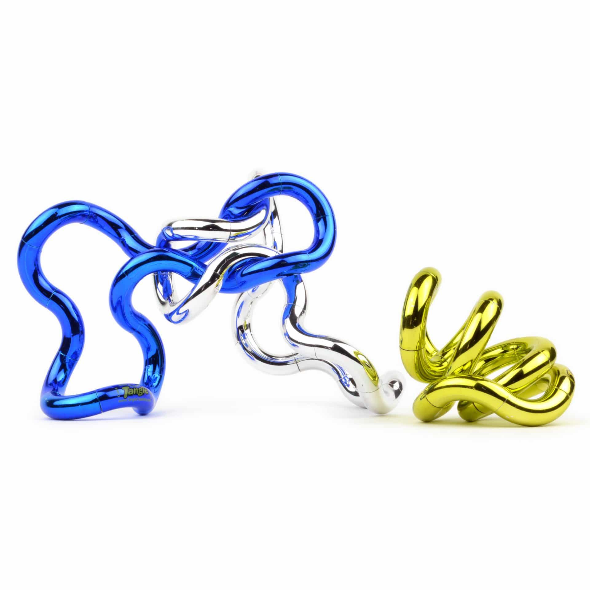 Tangle junior metallic bendable toys