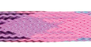 Woven nylon tubes compress stretch bend twist fly