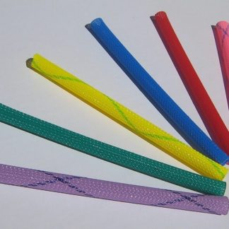 Woven nylon tubes compress stretch bend  fly