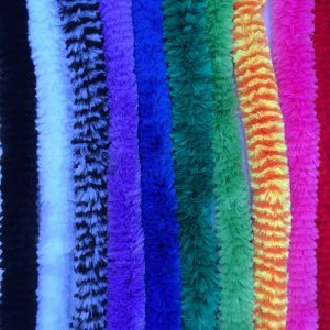 Silky bendable fiber stems promote creativity
