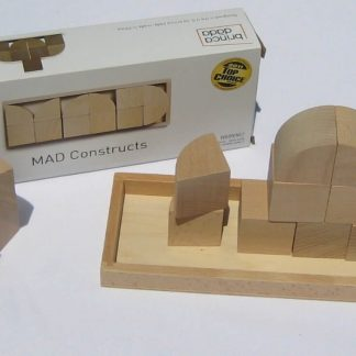 Simple architectural blocks encourage open-ended play