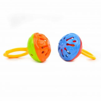 Mini cage bell infant-toddler musical toy
