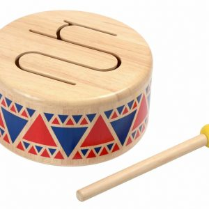 Wooden drum explores sound and rhythm