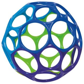 Easy-to-grasp ball promotes finger exploration