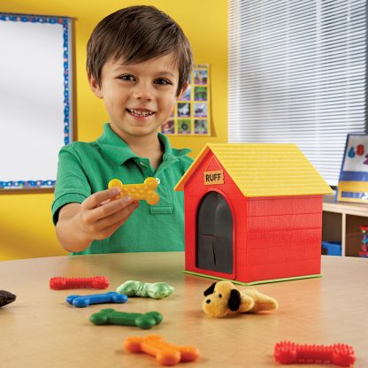 Ruff's House Tactile Game for matching textured dog bones